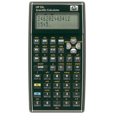 HP-35S Calculator.